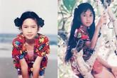 Minh Hà xinh đẹp từ thuở bé