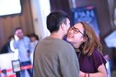 Con gái Thanh Lam thoải mái ôm hôn bạn trai giữa sự kiện