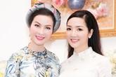 Giáng My, Thanh Mai trẻ trung như thiếu nữ  với áo dài