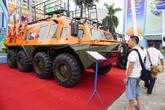 Máy bay không người lái và dàn xe đặc chủng ở Hà Nội