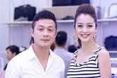 Jennifer Phạm rạng rỡ bên MC Anh Tuấn
