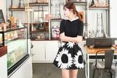 10 set đồ xinh tươi với chân váy họa tiết