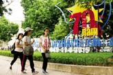 Chào mừng 70 năm Cách mạng Tháng Tám và Quốc khánh 2/9: Nhiều chương trình hoành tráng phục vụ người dân