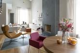 2 căn hộ hiện đại có màu sắc hoàn hảo
