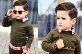 Street style thu 'yêu không chịu nổi' của cậu nhóc 3 tuổi