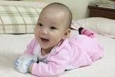Trịnh Kim Chi khoe con gái 4 tháng tuổi đáng yêu