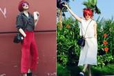 Gu thời trang 'cực cá tính' của Thiều Bảo Trâm