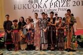 Nhà thiết kế Minh Hạnh nhận giải thưởng Fukuoka danh giá
