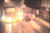 Đóng hầm Hải Vân khẩn cấp vì xe tải bốc cháy dữ dội
