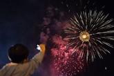 Hôm nay, bắn pháo hoa tầm cao tại Lễ hội đền Hùng