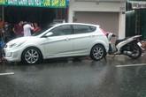 Thanh niên chạy xe SH đuổi theo ô tô tông mình để bắt xin lỗi
