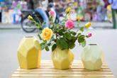 Những bình hoa đẹp với chi phí rẻ