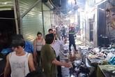 Cháy chợ Phùng Khoang: Mẹ lấy thân mình che lửa cho con 8 tháng tuổi