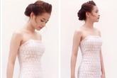 Sao đẹp tuần qua: Chi Pu đẹp thanh khiết với thời trang ren trắng