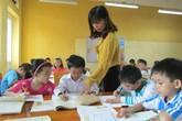 Trẻ học trước khi vào lớp 1: Khổ vì ai cũng muốn con mình giỏi nhất