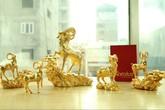 Sốt tiền và linh vật hình dê mừng Tết