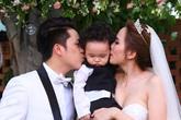 Hoa hậu Diễm Hương đẹp lộng lẫy trong ngày cưới