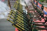 Loạt đại bác nổ vang trời tại Hoàng thành Thăng Long