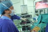 Phòng mổ nội soi hiện đại nhất Việt Nam đi vào hoạt động tại BV Hữu nghị Việt Đức