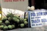 Nắng nóng khiến giá chanh, dừa tươi tăng cao