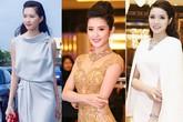 Những bộ váy cực thanh lịch, sang trọng của Hoa hậu, Á hậu Việt