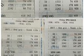 """""""Choáng"""" với hình ảnh hóa đơn tiền điện tháng 9"""