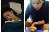 Hoa hậu bị soi giấc ngủ: Không ai nắm tay được cả ngày