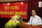 Phú Thọ xác định giảm sinh là nhiệm vụ trọng tâm năm 2015