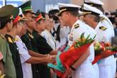 """Tàu bệnh viện """"khủng"""" của hải quân Hoa Kỳ tới Đà Nẵng"""