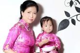 Thời trang đón xuân của mẹ và bé