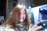 """""""Kiểu"""" tóc hot nhất ngày đông Hà Nội"""