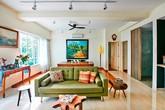 Căn nhà sinh động nhờ nội thất nhiều màu sắc