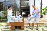 """Gia đình sao Việt ấm áp trong """"Nhà là nơi…"""""""