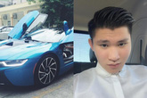 Thiếu gia 18 tuổi sở hữu BMW i8: 'Tôi sống bình dân lắm'