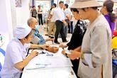 Trên 9.000 lượt người nghèo được khám,chữa bệnh nhân đạo