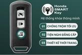 Honda Việt Nam thừa nhận khóa xe SH mới bị lỗi phần mềm