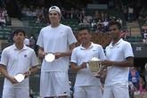 Lý Hoàng Nam: Từ nhặt bóng đến nhà vô địch Grand Slam trẻ