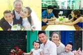 Chuyện ít biết về mối quan hệ cha dượng, con riêng của những mỹ nhân một con Vbiz