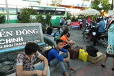 Ùn ùn về quê, kẹt cứng các cửa ngõ Sài Gòn