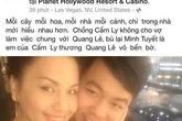 """Minh Tuyết: """"Quang Lê nói chuyện mà không suy nghĩ"""""""