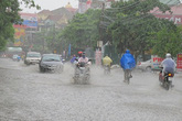 Hà Nội: Cảnh báo ngập lụt khu vực nội thành tối nay