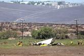 Hai máy bay đâm nhau trên không