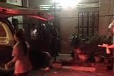 Hình ảnh mới nhất vụ con trai cầm dao giết chết bố mẹ ở Nam Định