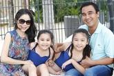 Niềm hạnh phúc có hai con gái của nam diễn viên vất vả nhất nhì Vbiz