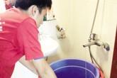 Công ty Nước sạch Hà Nội xử lý sự cố mất nước ở quận Cầu Giấy