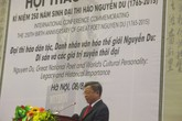 Đại thi hào Nguyễn Du - Di sản và giá trị xuyên thời đại