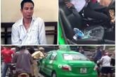 Bắt khẩn cấp lái xe của taxi Mai Linh hất CSGT lên nóc capo