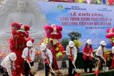 Khởi công công trình tượng Phật Thích Ca cao nhất thế giới