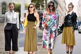 4 cách diện quần culottes cực chất tới công sở