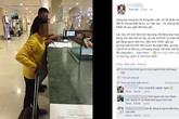 Người phụ nữ vừa mất mẹ và hành động ấm áp của nhân viên sân bay